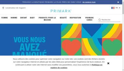 Site internet de Primart