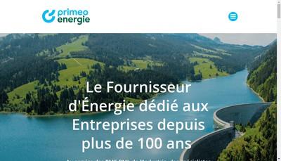 Site internet de Enel France