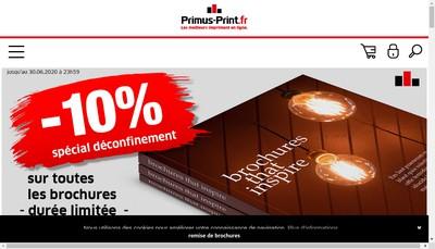 Site internet de Primus-Print Fr