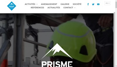 Site internet de Prisme Events