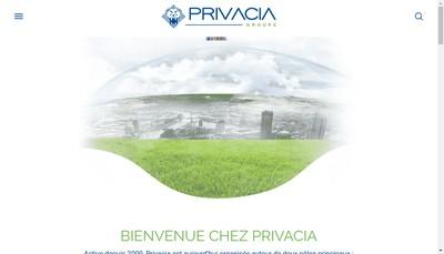 Site internet de Privacia Gdd