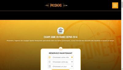 Site internet de Prizoners
