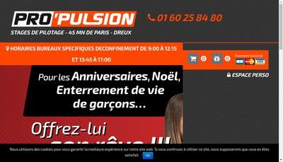 Site internet de Pro'Pulsion