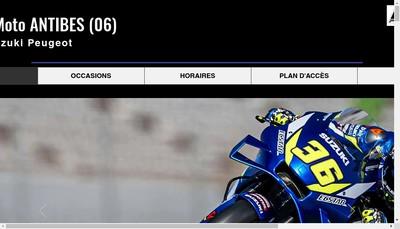 Site internet de Pro Shop Moto