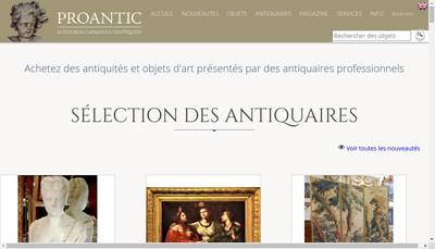 Site internet de Proantic