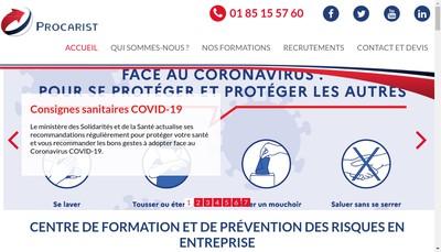 Site internet de Procarist