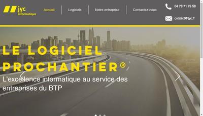 Site internet de Jyc Informatique