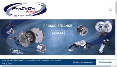 Site internet de Procodis France