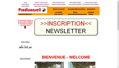 Site internet de Prodiconseil