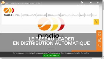 Site internet de Prodia Plus