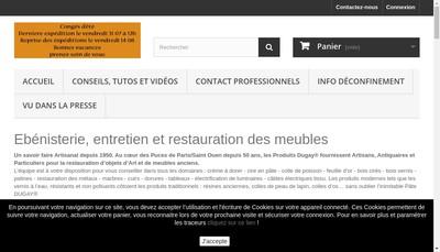 Site internet de Dugay