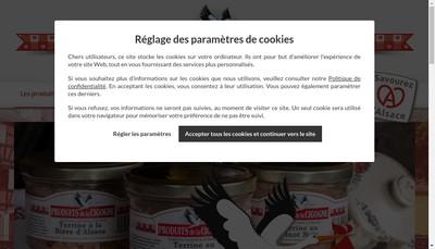 Site internet de Boucherie Charcuterie Herrbrech