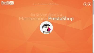 Site internet de Marketica
