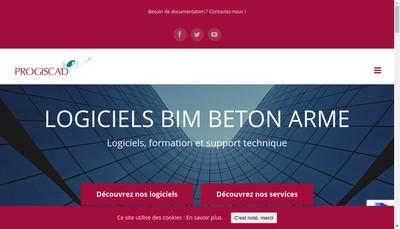 Site internet de Progiscad