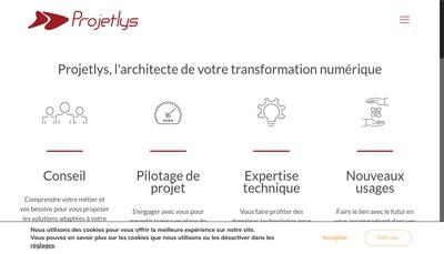 Site internet de Projetlys