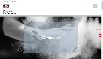 Site internet de Projets et Performance Mediterranee