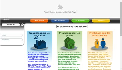 Site internet de Projexia