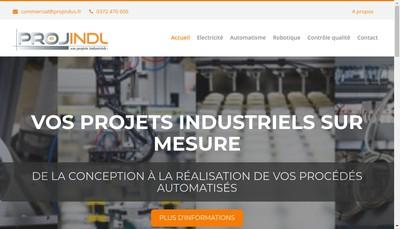 Site internet de Projindus