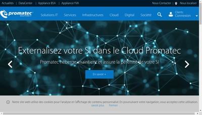 Site internet de Promatec