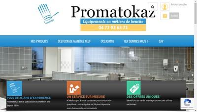 Site internet de Promatokaz