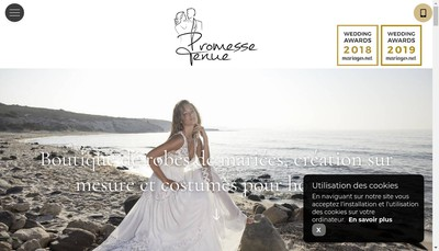 Site internet de Promesse Tenue