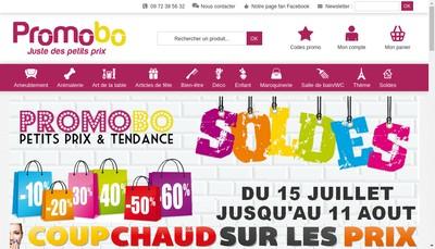 Site internet de Promobo