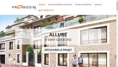 Site internet de Promodim