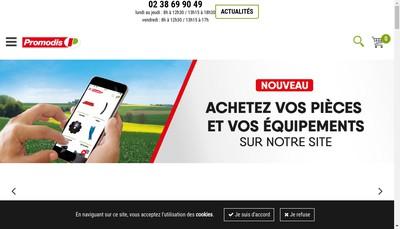 Site internet de Societe Promodis