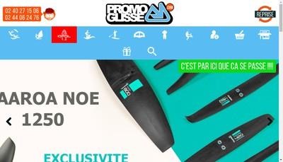 Site internet de Kalamazoo Shop