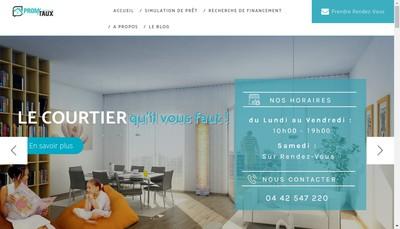 Site internet de Promtaux