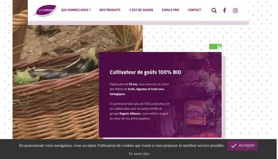 Site internet de Pronatura Provence