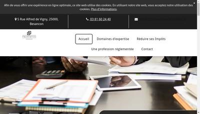 Site internet de Rm Invest
