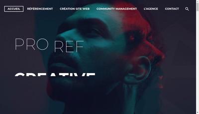 Site internet de Proref