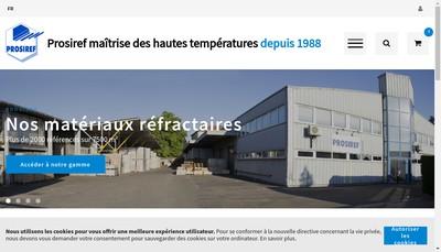 Site internet de Prosiref