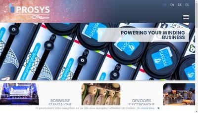 Site internet de Prosys SA