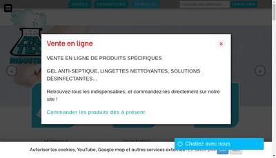Site internet de Protec Industries
