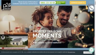 Site internet de Protection 24