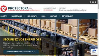 Site internet de Protectora Systems