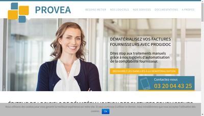 Site internet de Provea