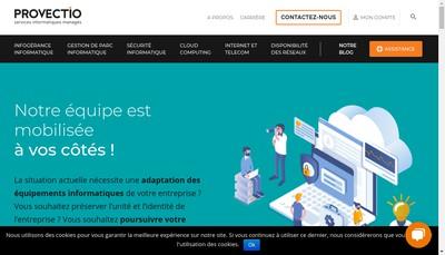 Site internet de Provectio