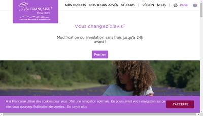Site internet de Locations Vaucluse Provence Reservations