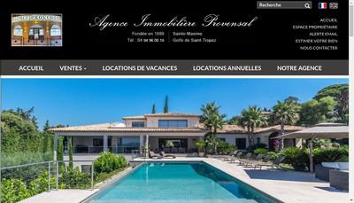 Site internet de Agence Provencale Cote d'Azur