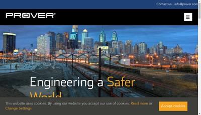 Site internet de Prover Technology