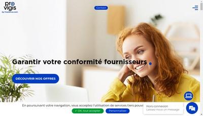 Site internet de W-P Conseil