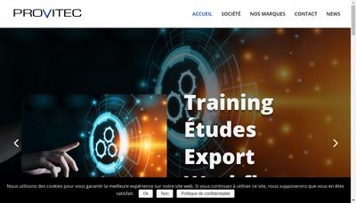 Site internet de Provitec