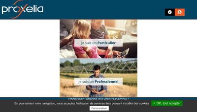 Site internet de Proxelia