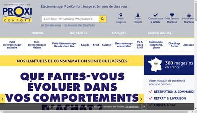 Site internet de Sur Mesures-Proxi Confort-Cuisine Plaisir