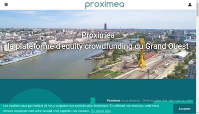 Site internet de Proximea