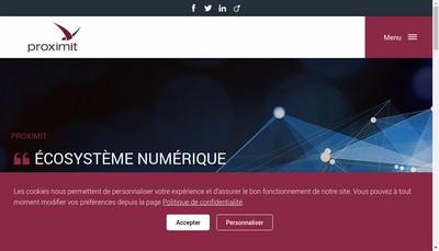 Site internet de Proximit