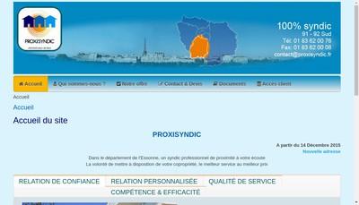 Site internet de Proxisyndic